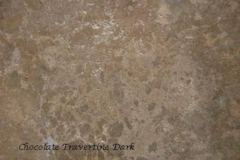 Chocolate Travertine Dark